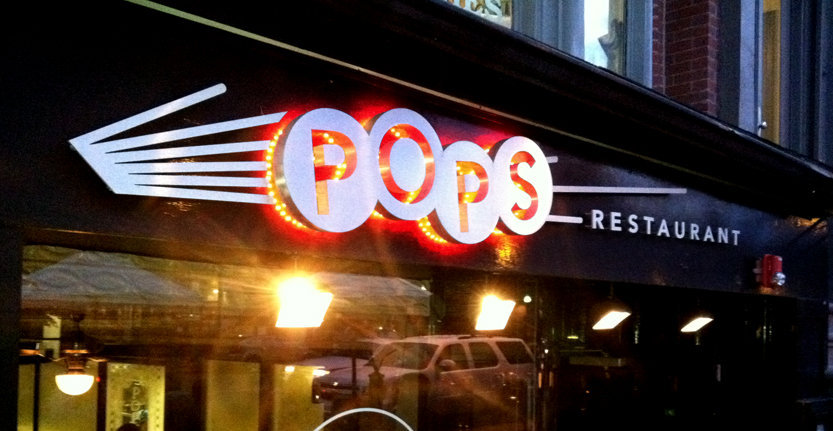 Pops Illuminated 3D Letters