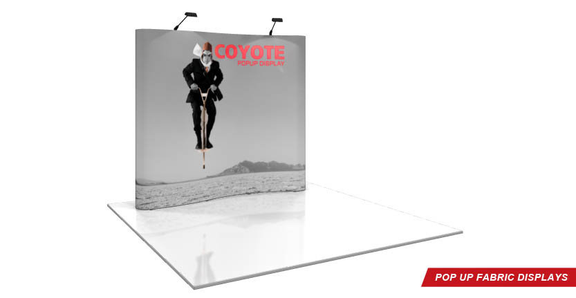 High Quality Serpentine Pop-Up Display