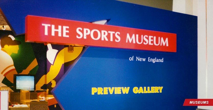 High Quality Wall Sign for Sport Museum