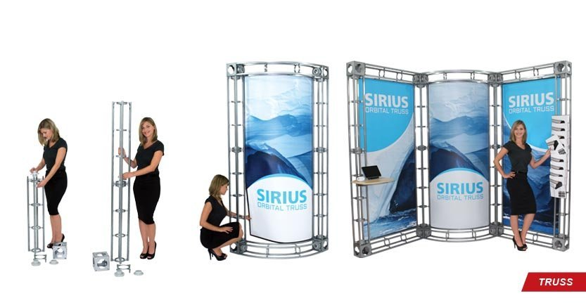Different Type Of High Quality Custom Trade Show Truss Displays