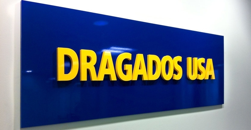 Dragados USA Non-Illuminated 3D Letters and Logos