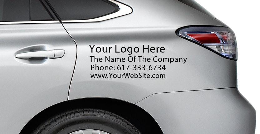 High Quality Custom Vehicles Commercial Requirements with Your Logo
