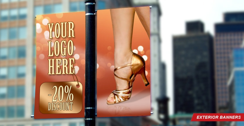 High Quality Exterior Banner for Your DIscounts
