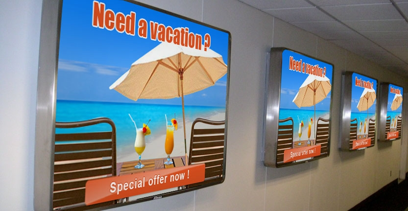 Interior Illuminated Signs for Your Special Offer
