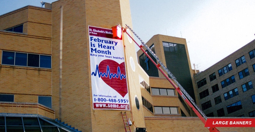 Custom Large Banner for Medical Center