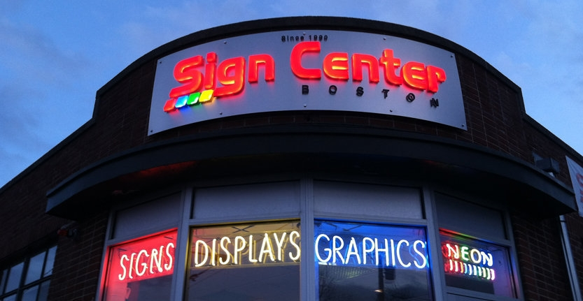Storefront 3D Illuminated Letters For Advertising Agency